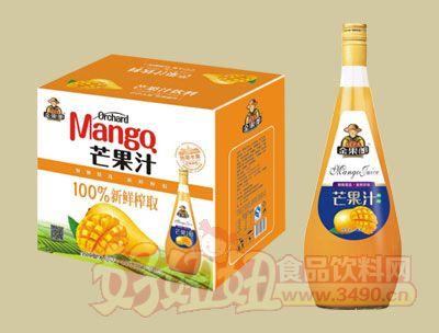 华宝100%新鲜榨取芒果汁