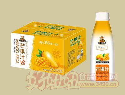 华宝金果郎芒果汁400ml