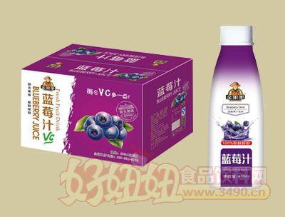 华宝金果郎蓝莓汁400ml
