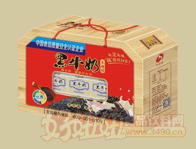 华宝黑牛奶礼盒