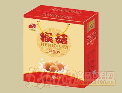 华宝猴菇养生奶礼盒
