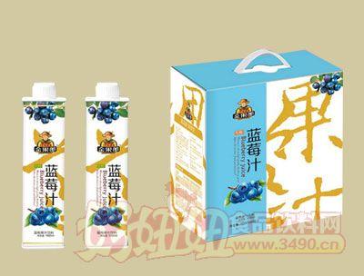 华宝金果郎蓝莓汁1000ml