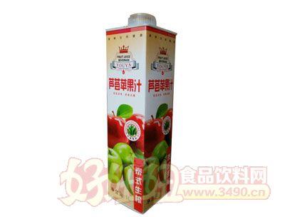 悠雅泰式生榨芦荟苹果汁1l盒装