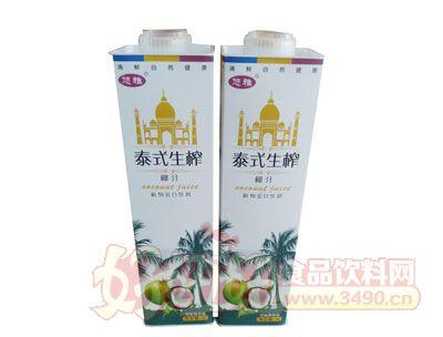 悠雅泰式生榨椰汁1l植物蛋白饮品