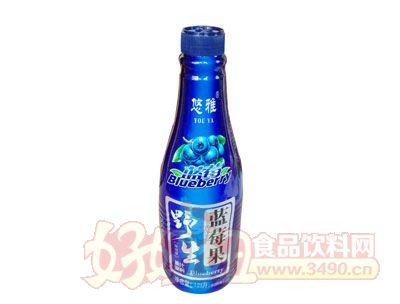 悠雅野生蓝莓汁1.25L