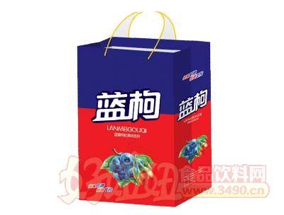 欣维恩蓝莓枸杞果味饮料手提袋