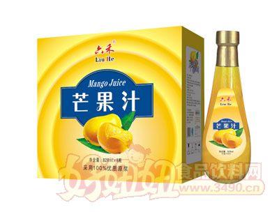 六禾芒果汁828mlx8瓶