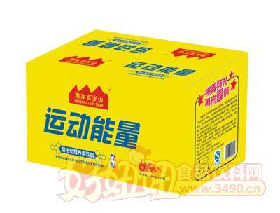 豫友百岁山运动能量强化型营养素饮料600mlx15瓶箱装