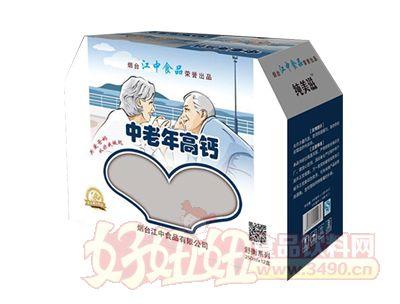 烟台江中中老年高钙奶礼盒装