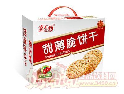 嘉士利800g-紅棗口味甜薄脆餅乾