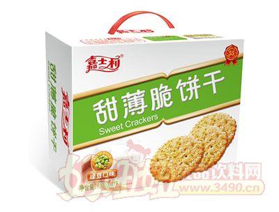 嘉士利800g-綠豆口味甜薄脆餅乾