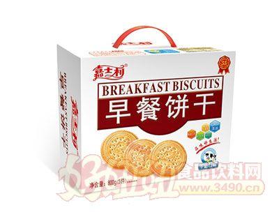 嘉士利800g-牛奶味早餐餅乾