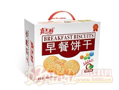 嘉士利鹹味蔥油早餐餅乾