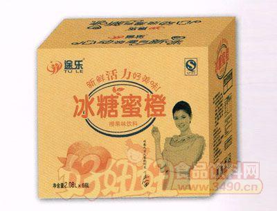 冰糖蜜橙-2.08L-6瓶