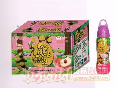 熊出没蜜桃味-420ML-20瓶
