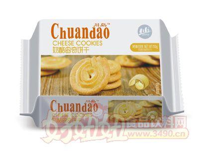 川岛奶酪曲奇饼干130g