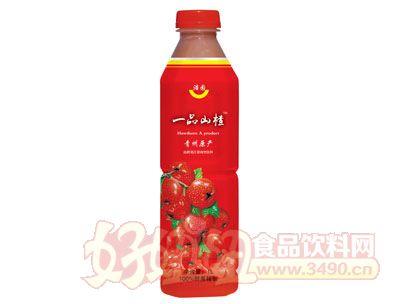 浩园山楂汁果汁果肉饮品1l