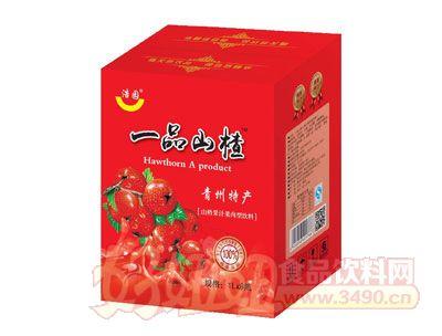 浩园山楂汁果汁果肉饮品1lx6瓶