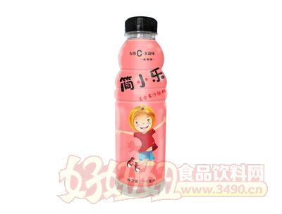 福临门简小乐(复合果汁饮料)蜜桃味500ml