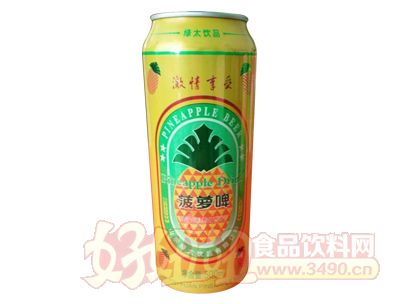 达威菠萝啤500ml