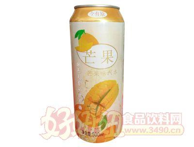 达威芒果味汽水500ml