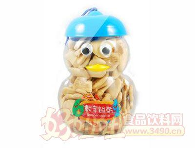 ssy雪人造型数字饼干130g