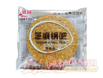 正盛圆芝麻锅巴饼干