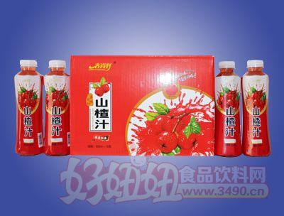 春尚好山楂汁饮料500ml×15瓶