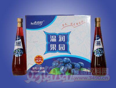 春尚好温润果园蓝莓汁饮料828ml×8瓶