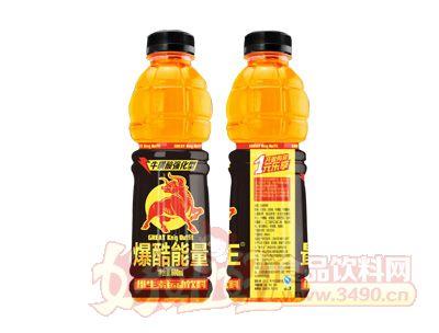 爆酷能量维生素运动饮料600ml