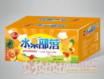 果优先水果沙拉箱装橙色