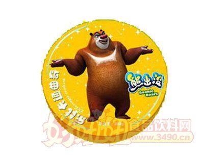 熊出没曲奇饼干巧克力味