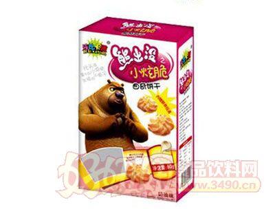熊出没小炫脆曲奇饼干奶油味