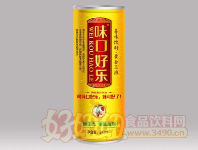 味口好乐枸杞果汁饮料240ml