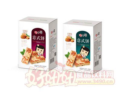 200克意式饼(蔓越莓味杏仁焦糖味)