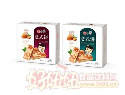 102克意式饼(蔓越莓味杏仁焦糖味)