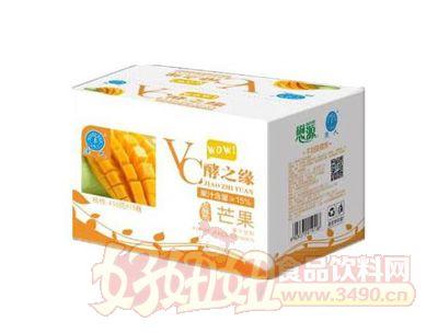 强人VC酵之缘芒果果汁饮料450gx15瓶