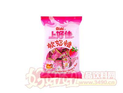 上好佳�奶糖-草莓味120克