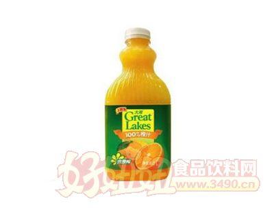 上好佳大湖100%橙汁1000ml