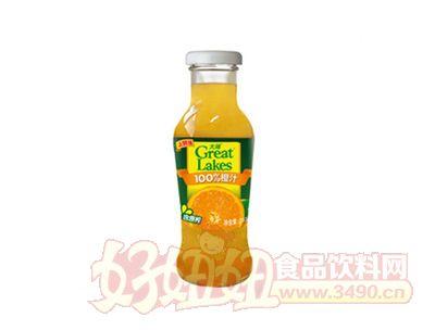 上好佳大湖100%橙汁255ml