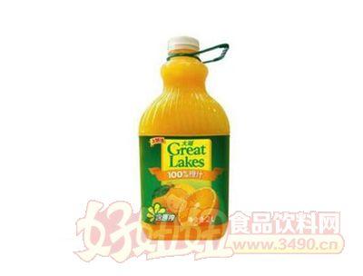 上好佳大湖100%原榨橙汁2000ml