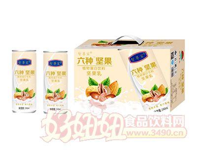 六种坚果植物蛋白饮品