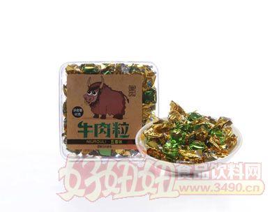 漠北90g五香牛肉粒