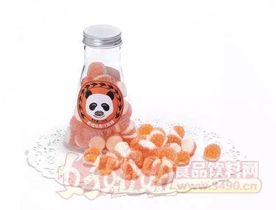 心味果园128g香橙味果汁软糖