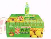 乐舒康冰柠檬饮料350ml×24瓶1