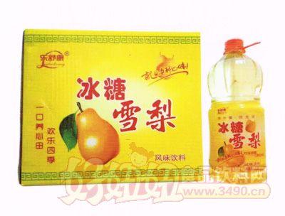 乐舒康冰糖雪梨风味饮料2.5L×6瓶