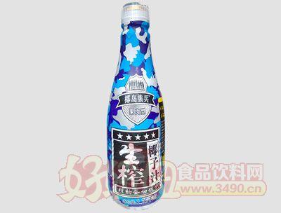 椰岛熊兵果肉型生榨椰子汁1.25千克