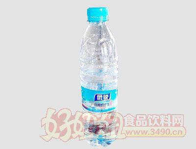 优锐饮用纯净水550ml