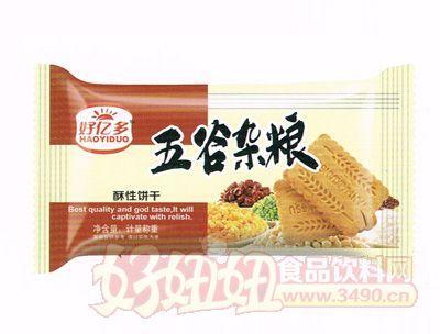 好亿多-五谷杂粮酥性饼干(棕色)