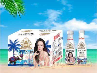 椰果派对泰式生榨椰子汁500mlx15